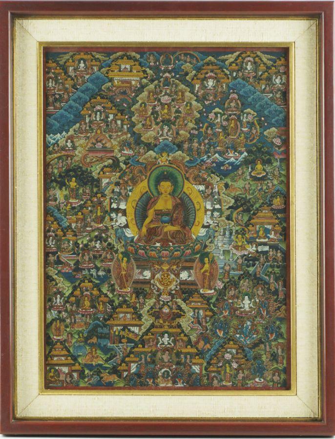 Thangka Tibetana