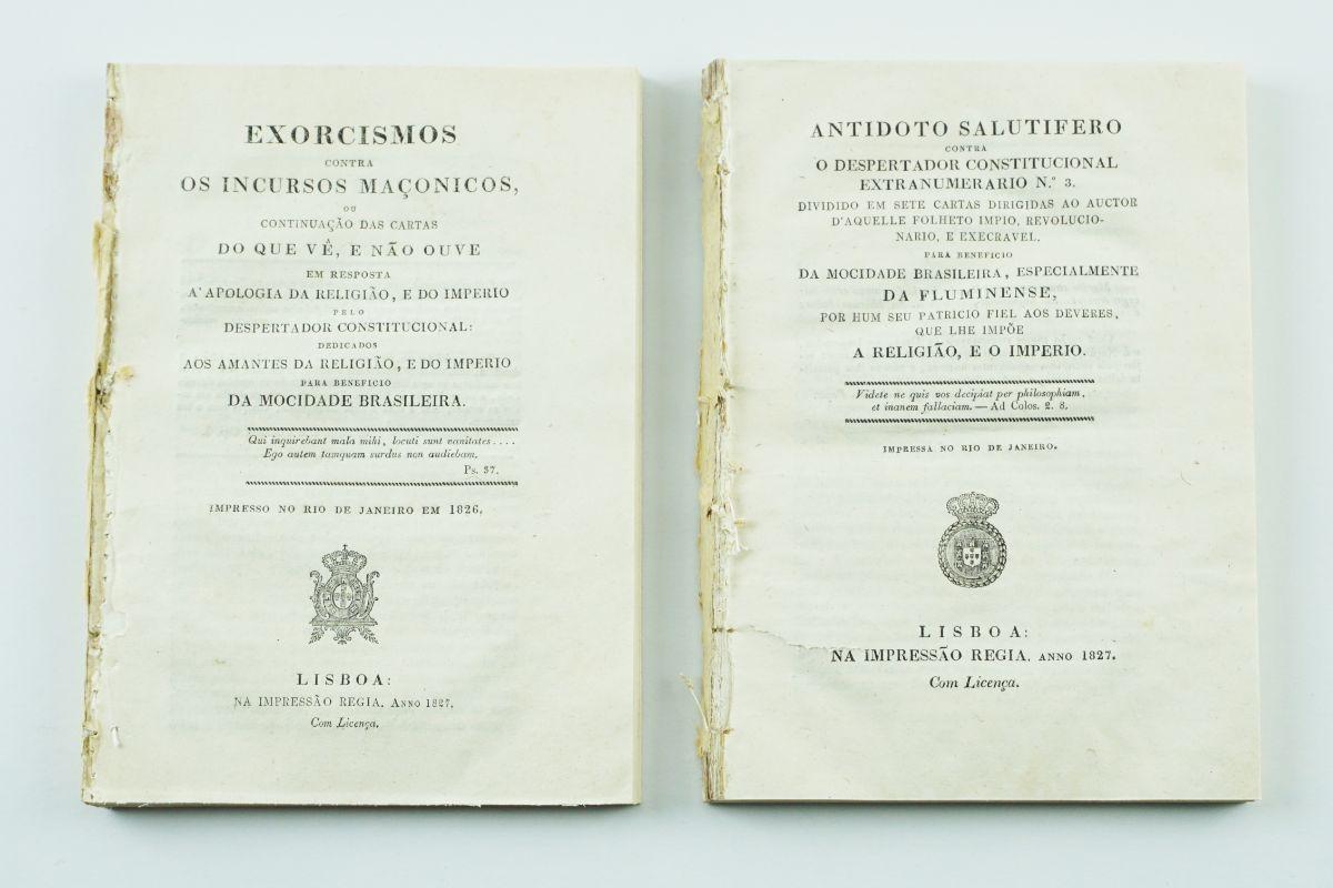 Obras antimaçónicas de autor brasileiro (1827)