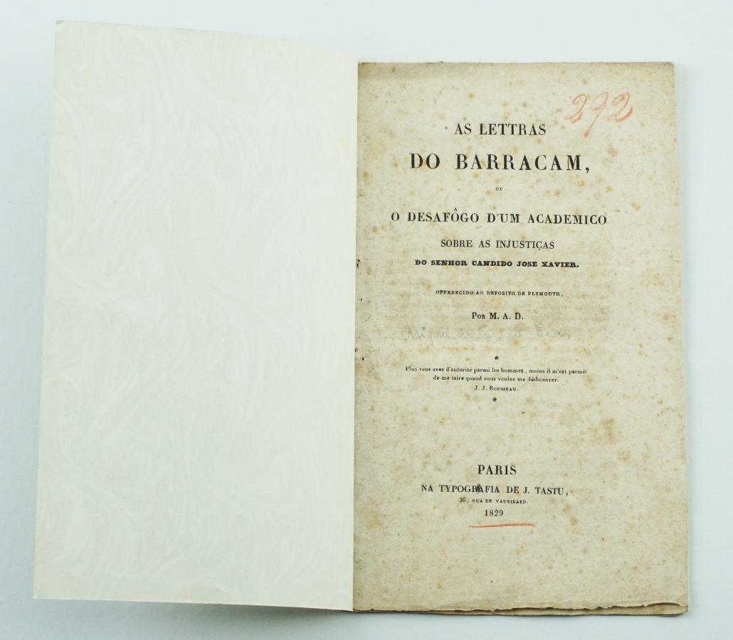 As Letras do Barracão (1829)