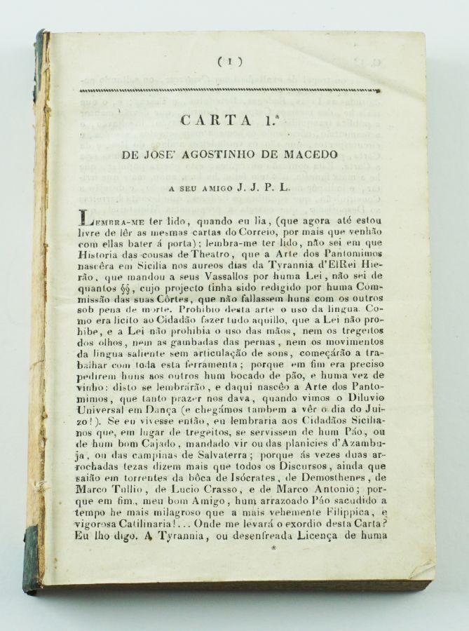 Rara publicação periódica absolutista (1827)