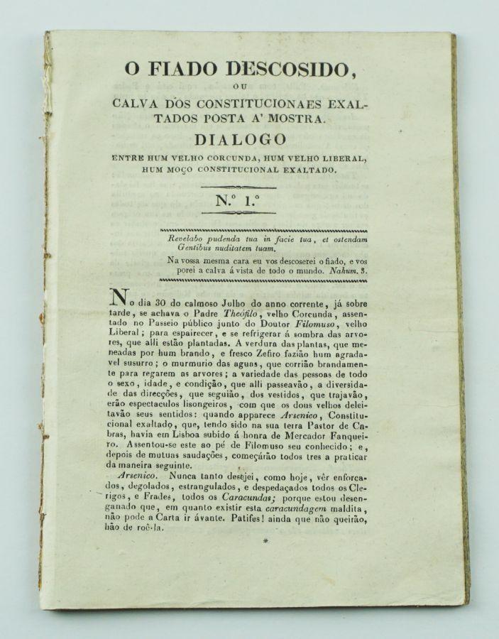 Publicação periódica liberal moderada (1827)