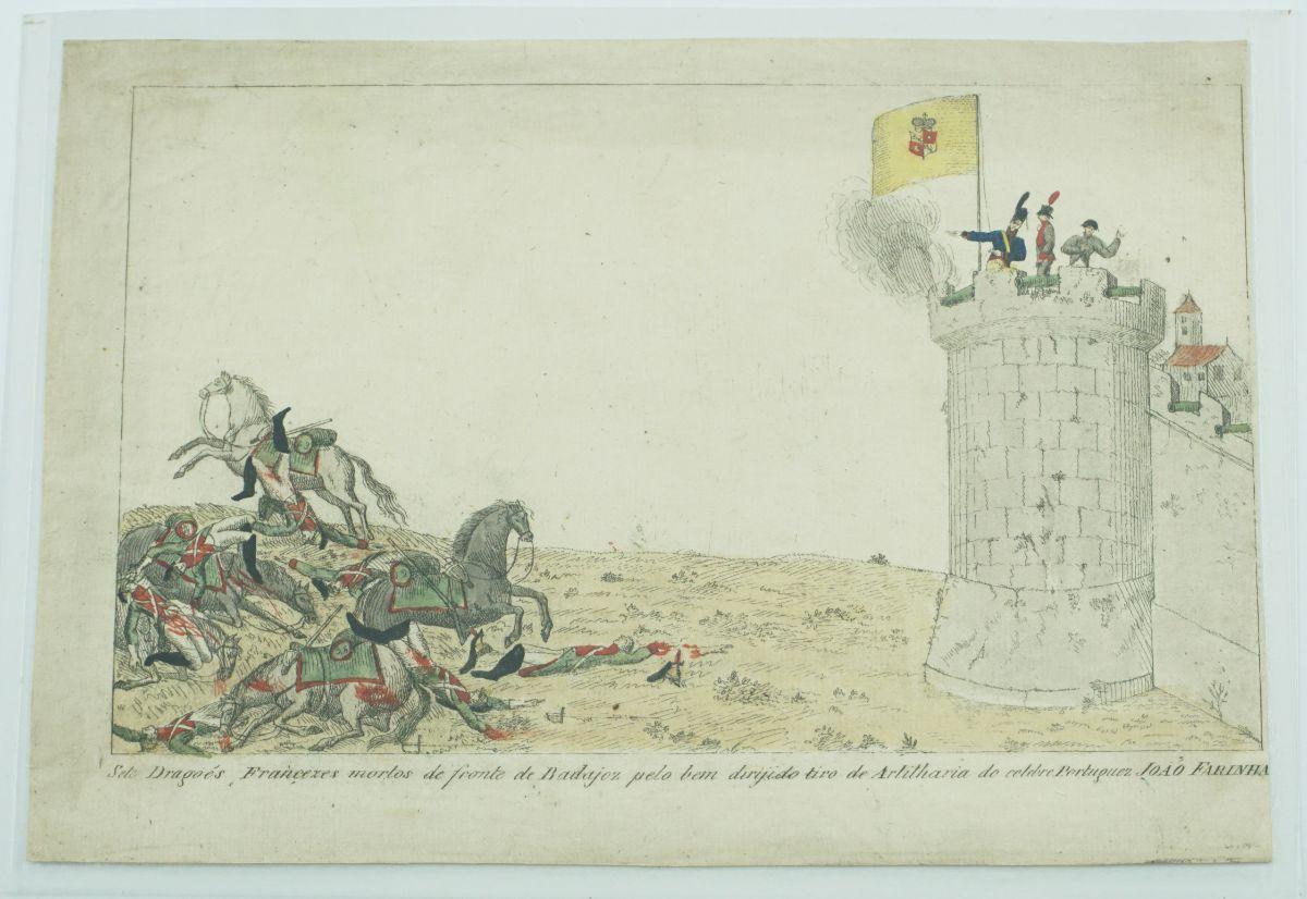 Guerra Peninsular – gravura portuguesa