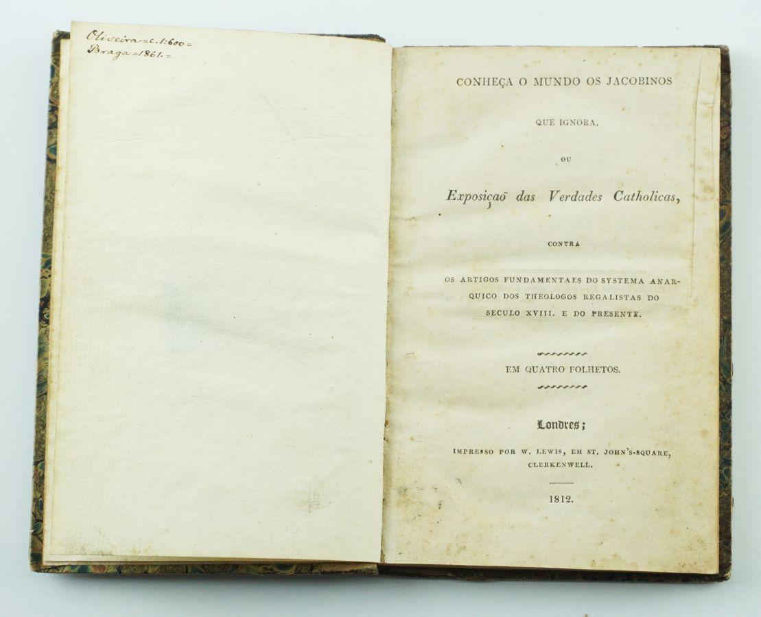 Um livro proibido em 1815