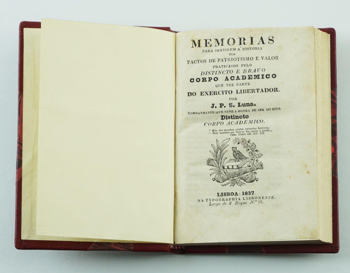 História do Corpo Académico na Guerra Civil de 1832-1834