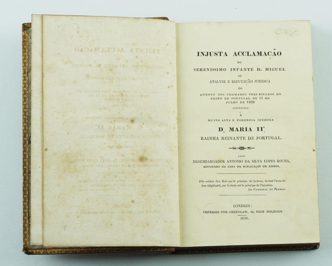 Debate em torno da querela da sucessão entre D. Pedro e D. Miguel (1828)
