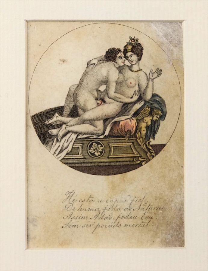 Gravura erótica (início do século XIX)