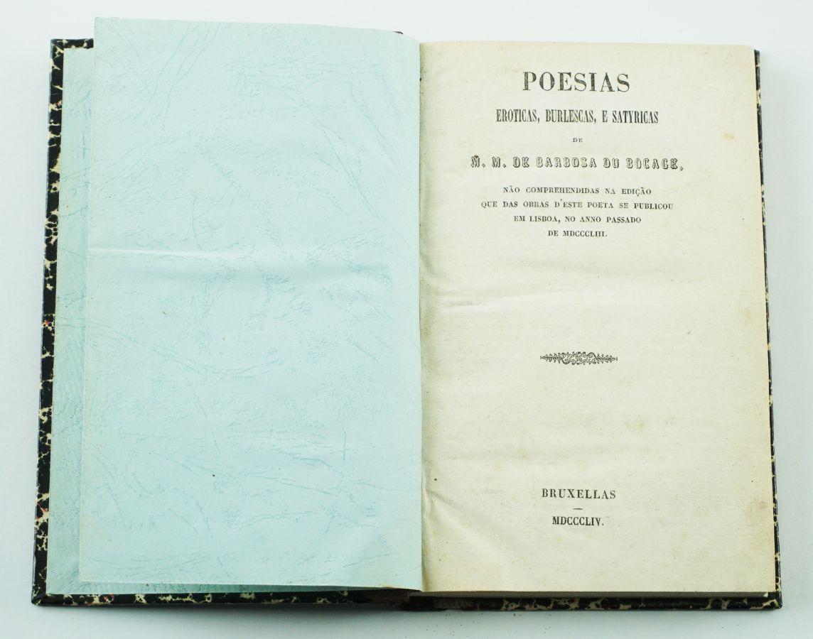 Bocage – Poesias Eróticas, Burlescas e Satyricas
