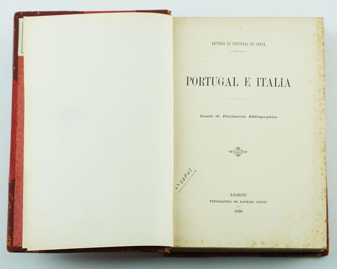 Portugal e Itália (1898-1900)