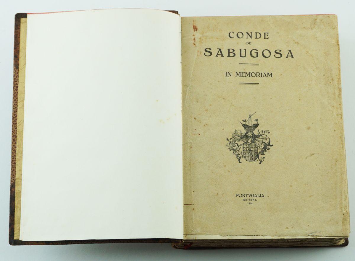 Conde de Sabugosa - In Memoriam