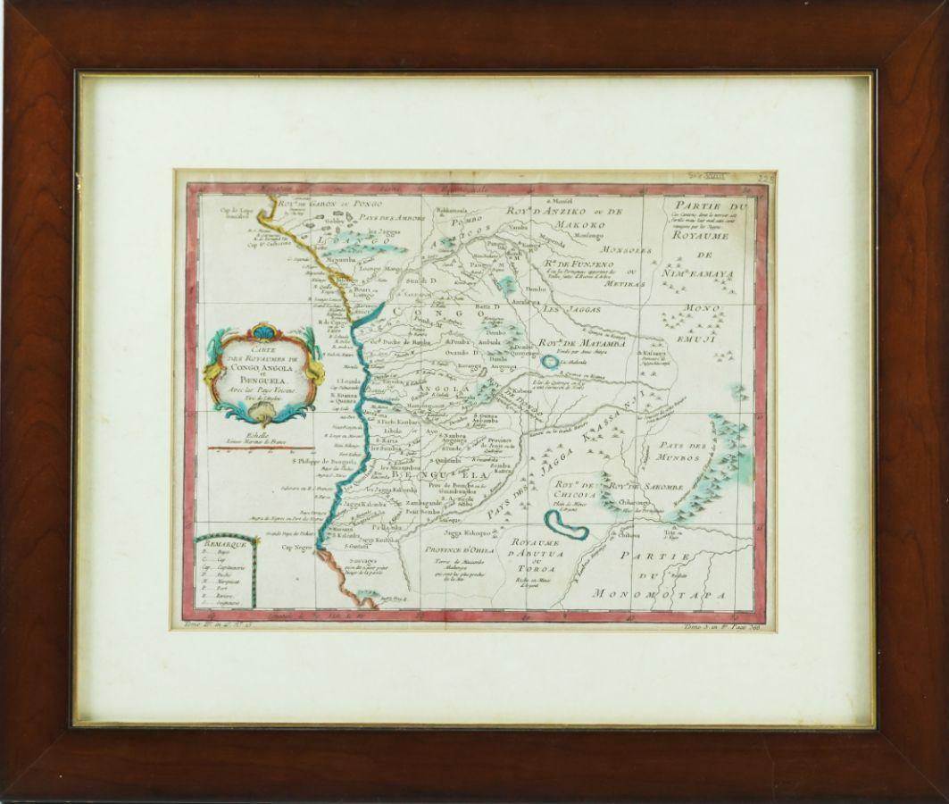 Mapa do Congo e Benguela