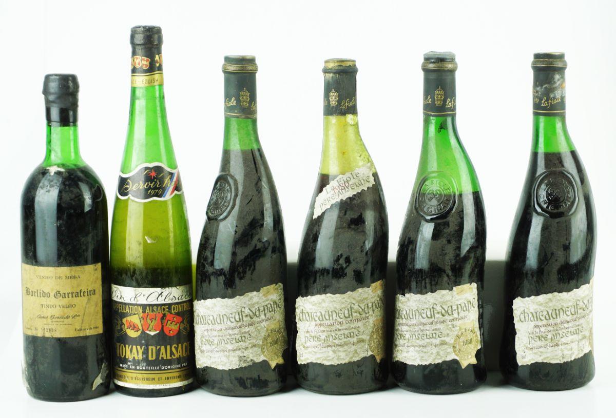 16 Garrafas de Vinho Francês