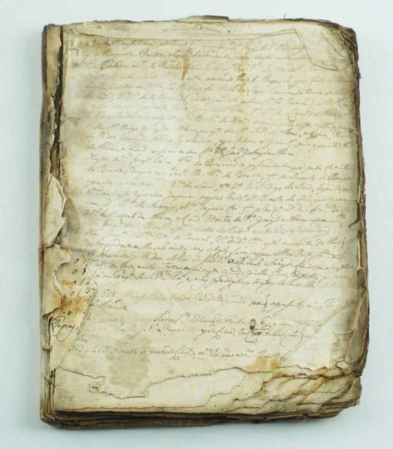 Manuscrito séc. XVIII