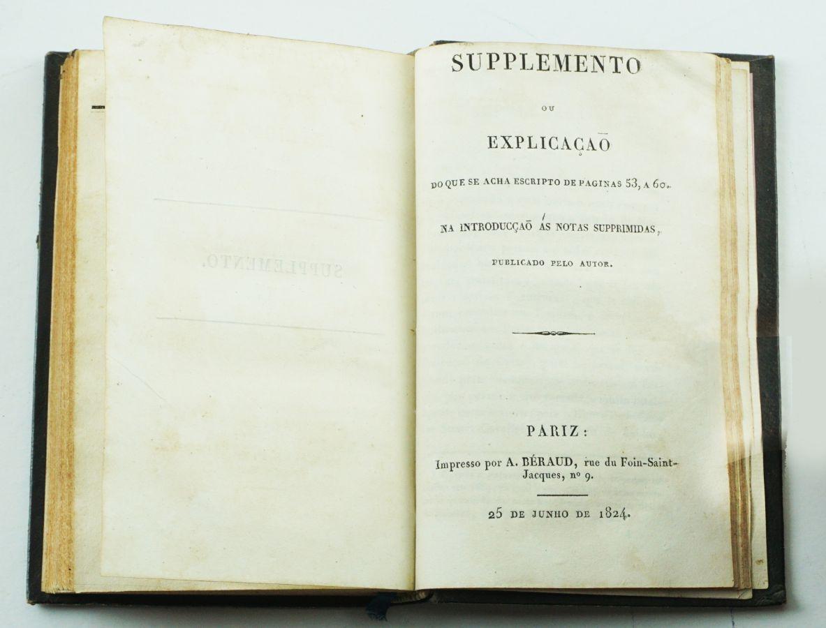 Raras obras do Conde do Funchal sobre a Revolução de 1820