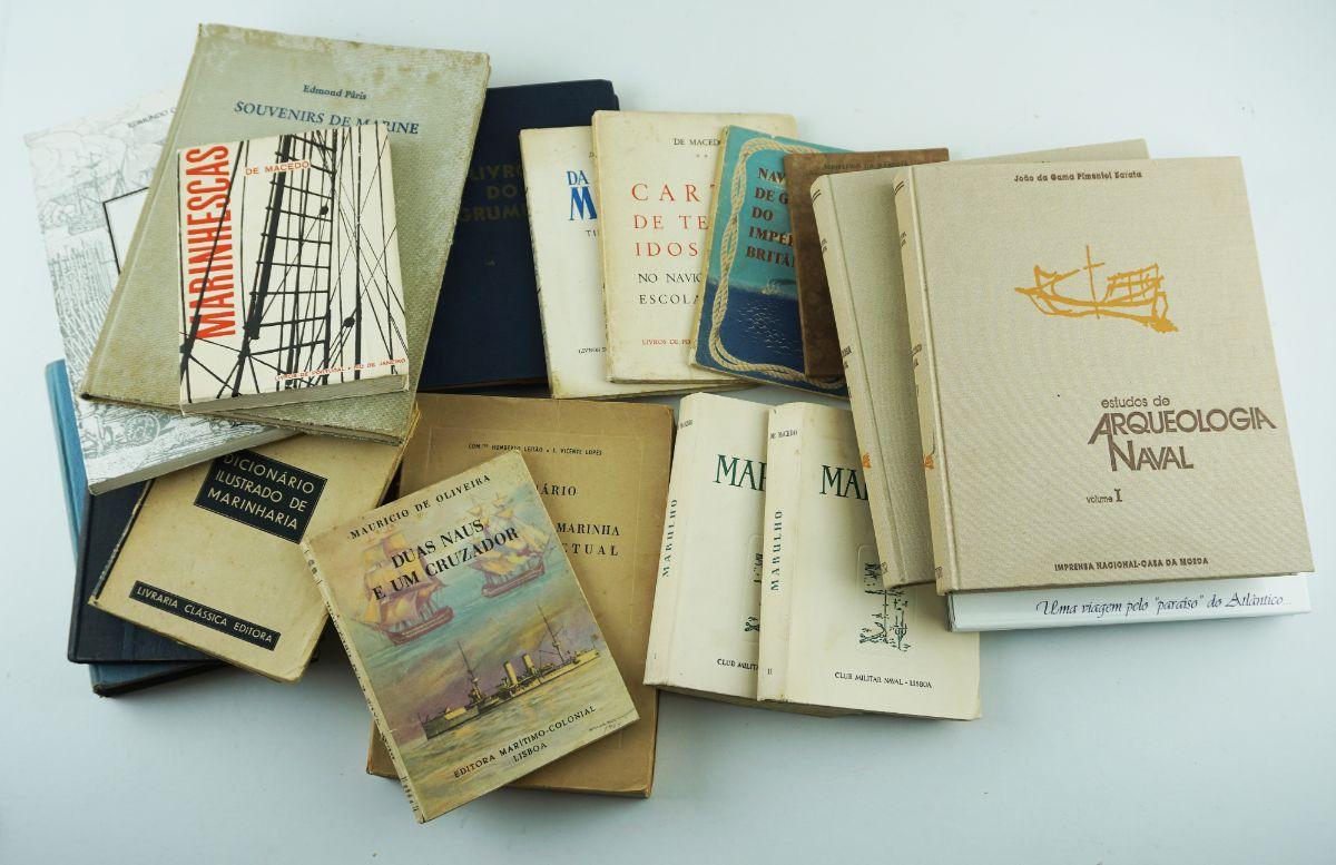 20 Livros de Marinha