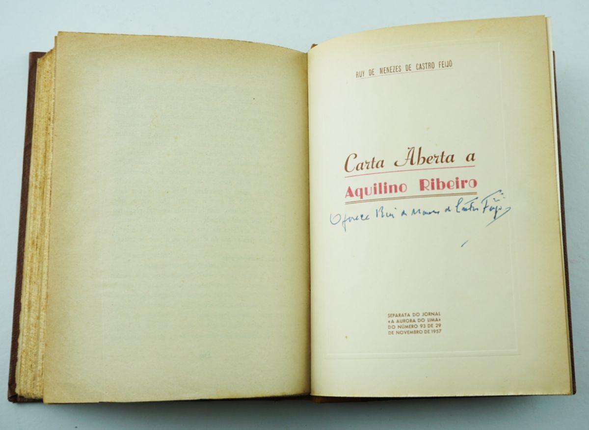 Carta Aberta a Aquilino Ribeiro