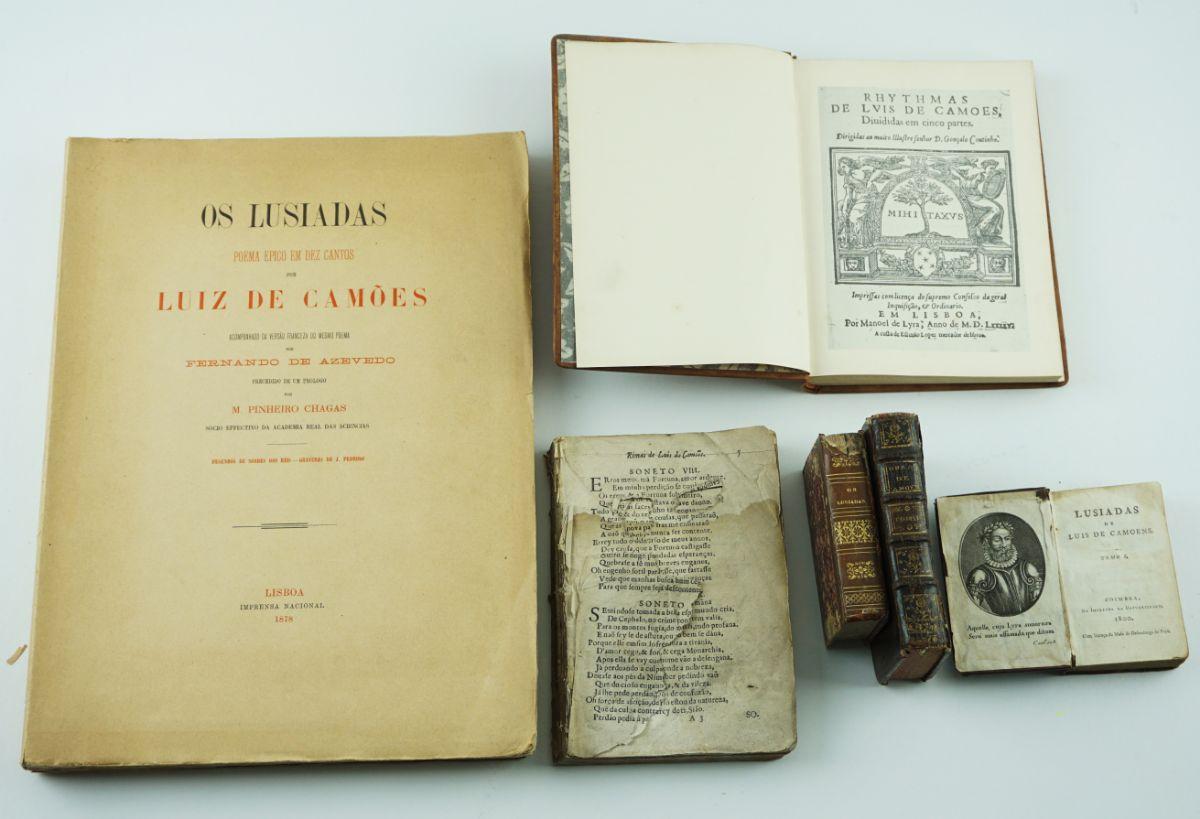 Luiz de Camões – Os Lusiadas / Camoneana Sec XVIII XIX
