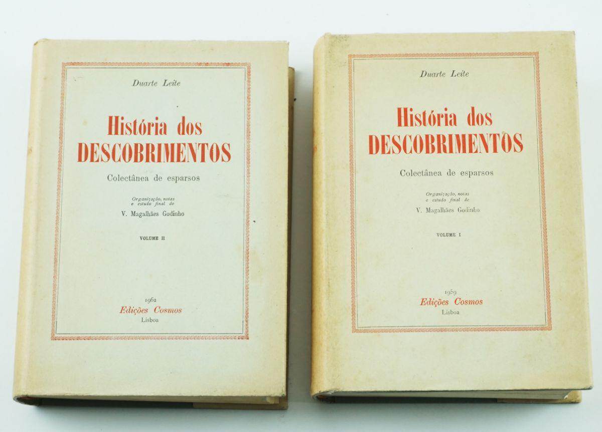 História dos Descobrimentos (I e II volume, completa)