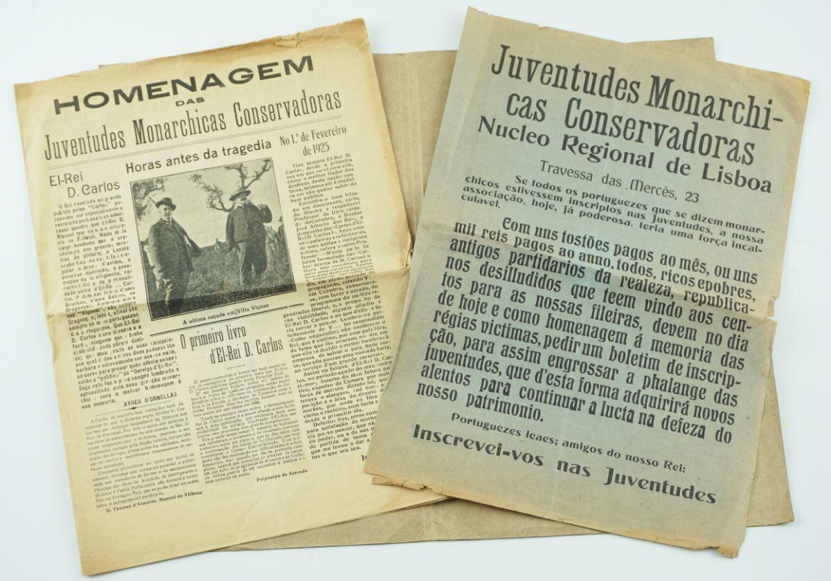 Manifesto Juventudes Monarchicas Conservadoras – 1925
