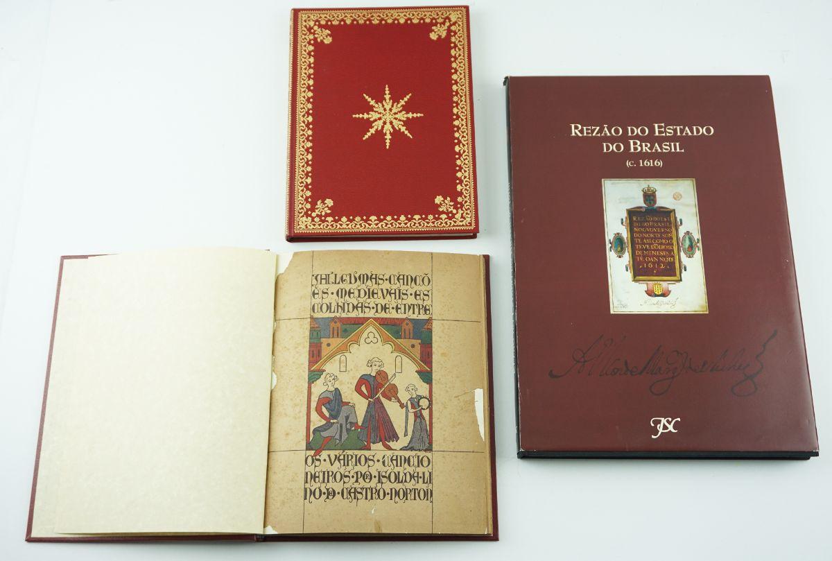 Fac-simile de livros Portugueses importantes