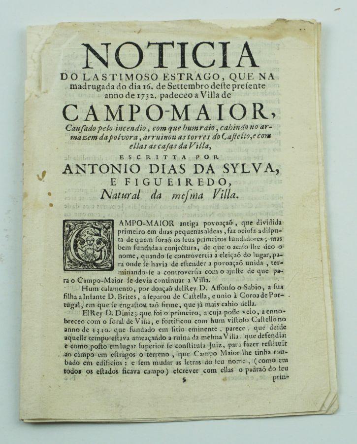 Campo – Maior – 1732