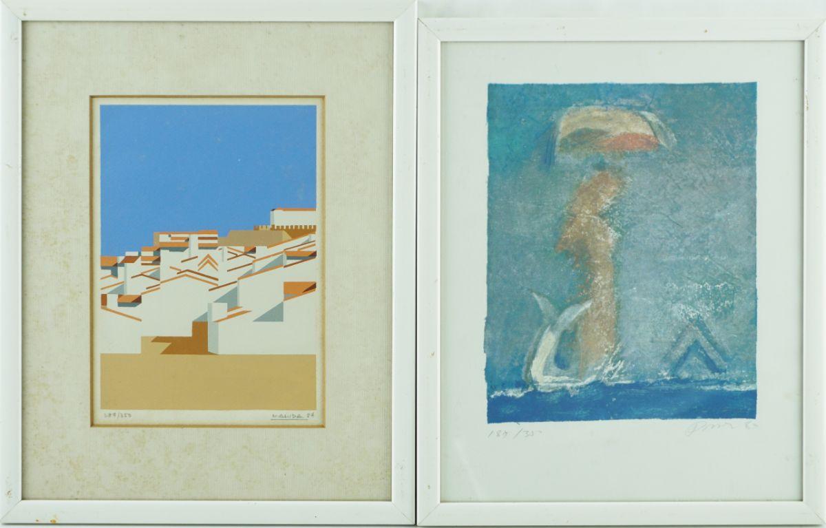 4 Serigrafias diversas