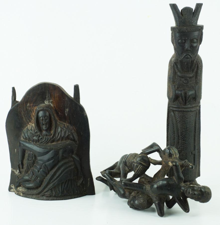 12 Esculturas de Figuras Africanas