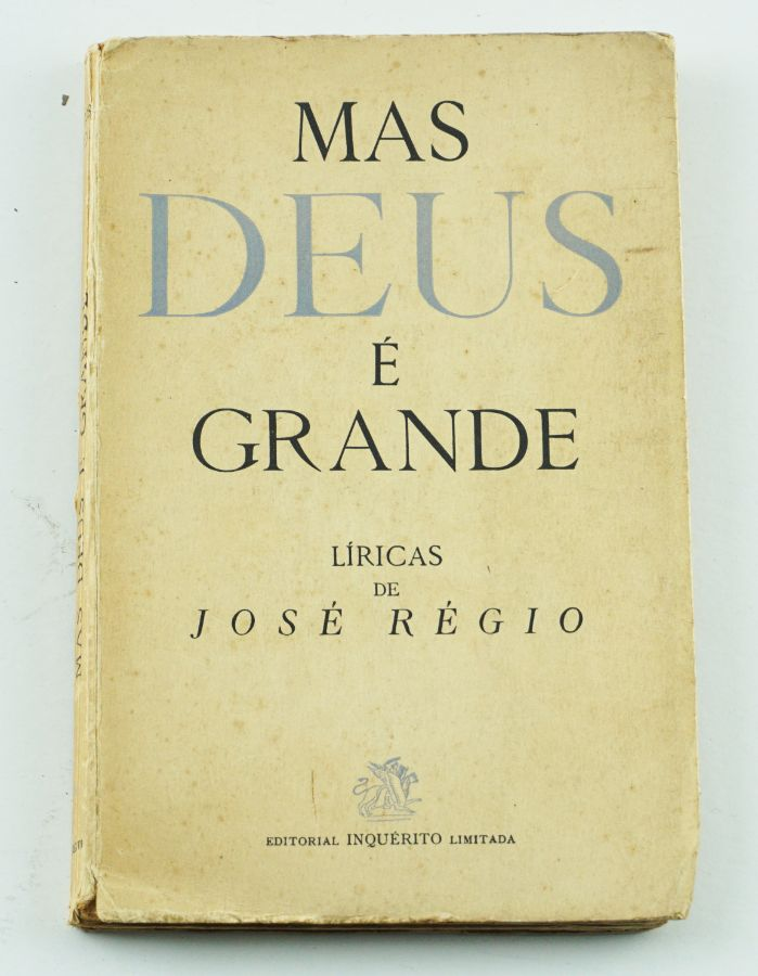 José Régio (1ª edição)