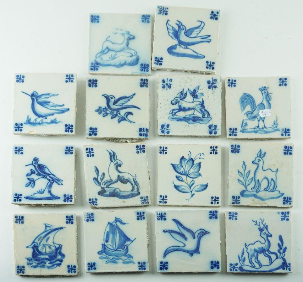 14 Azulejos (1ª Parte do séc. XX)