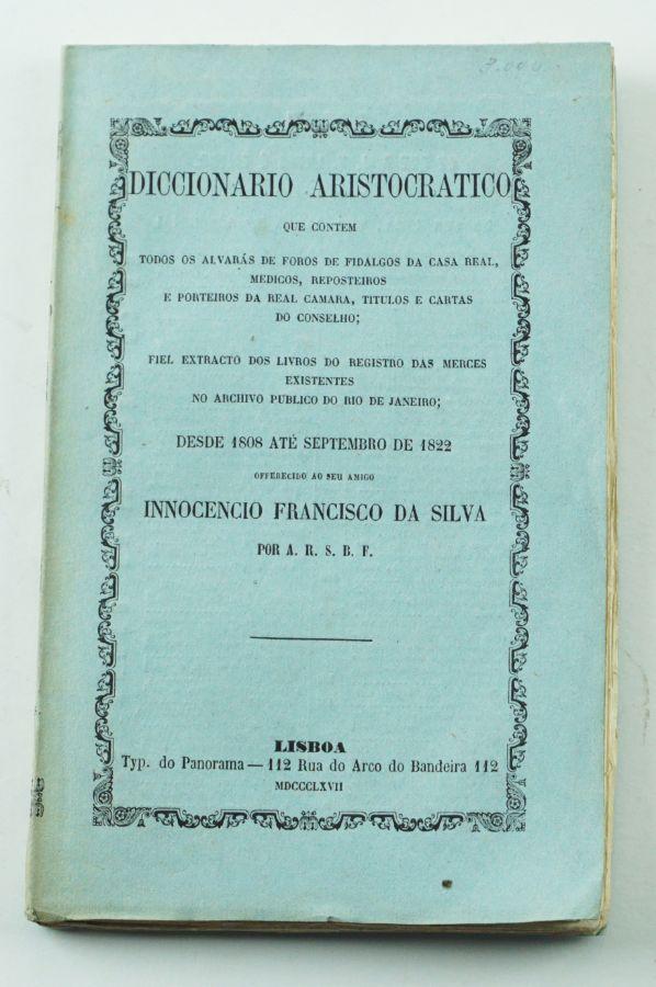 Sanches de Baena – Dicionário Aristocrático (1867)