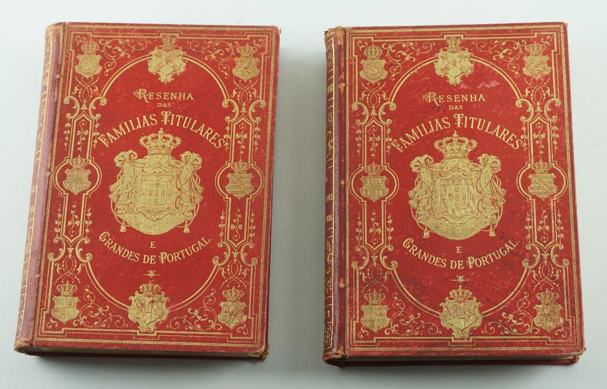 Resenha das Famílias Titulares e Grandes de Portugal (1883-1885)