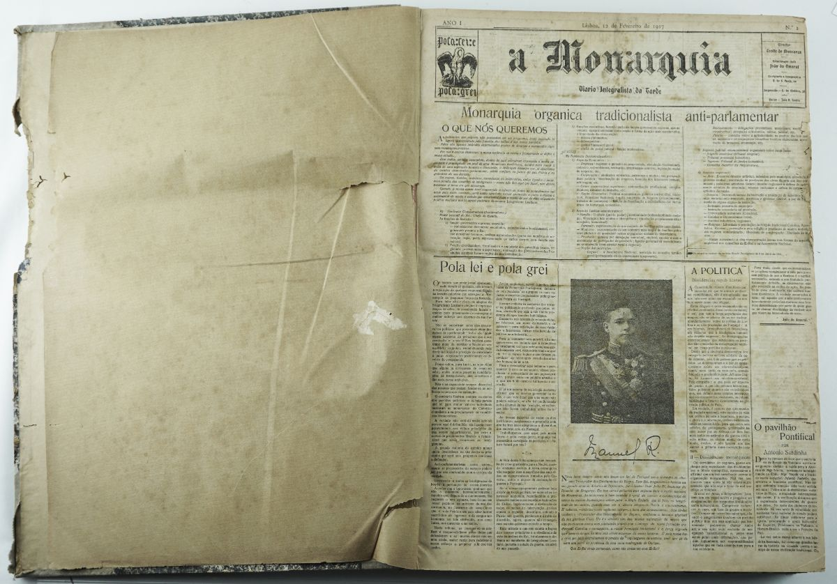 A Monarquia – Diário Integralista da Tarde (1917-1922)