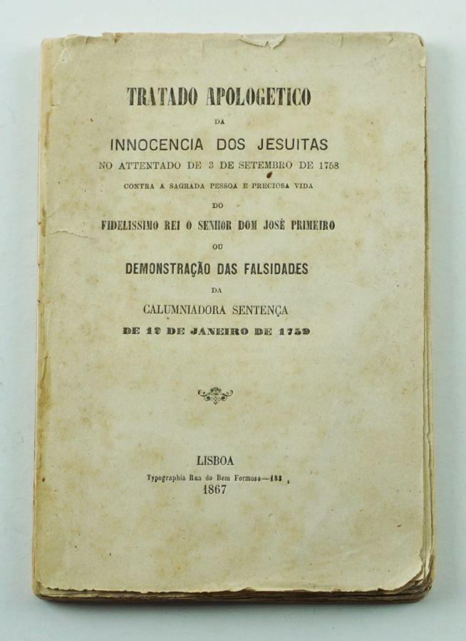 Tratado Apocogético da Inocência dos Jesuítas (1867)