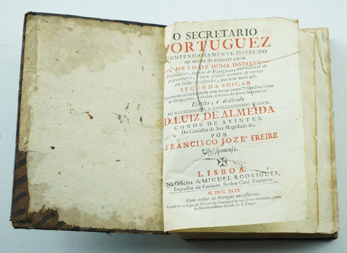 O Secretário Portuguez – 2ª edição – 1759