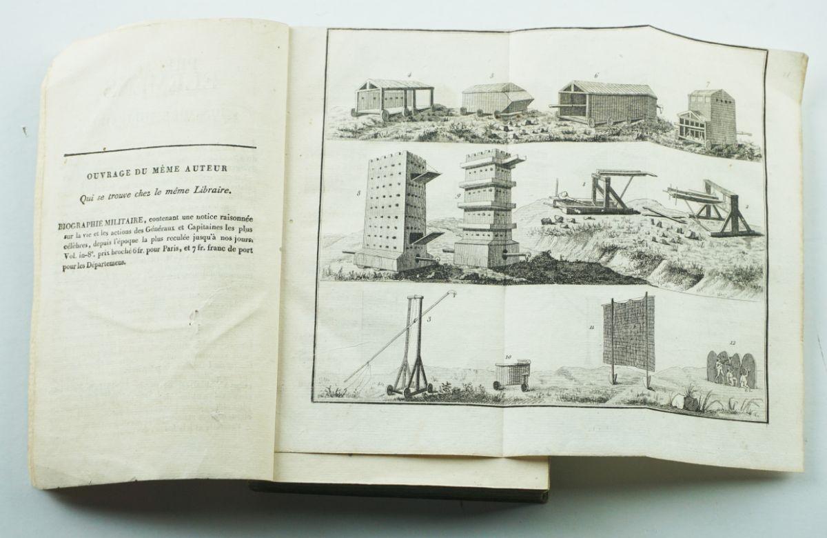 Livros Militares séc. XVIII e XIX