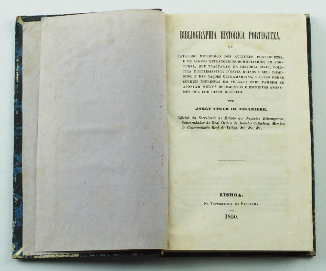 Bibliographia Histórica Portugueza
