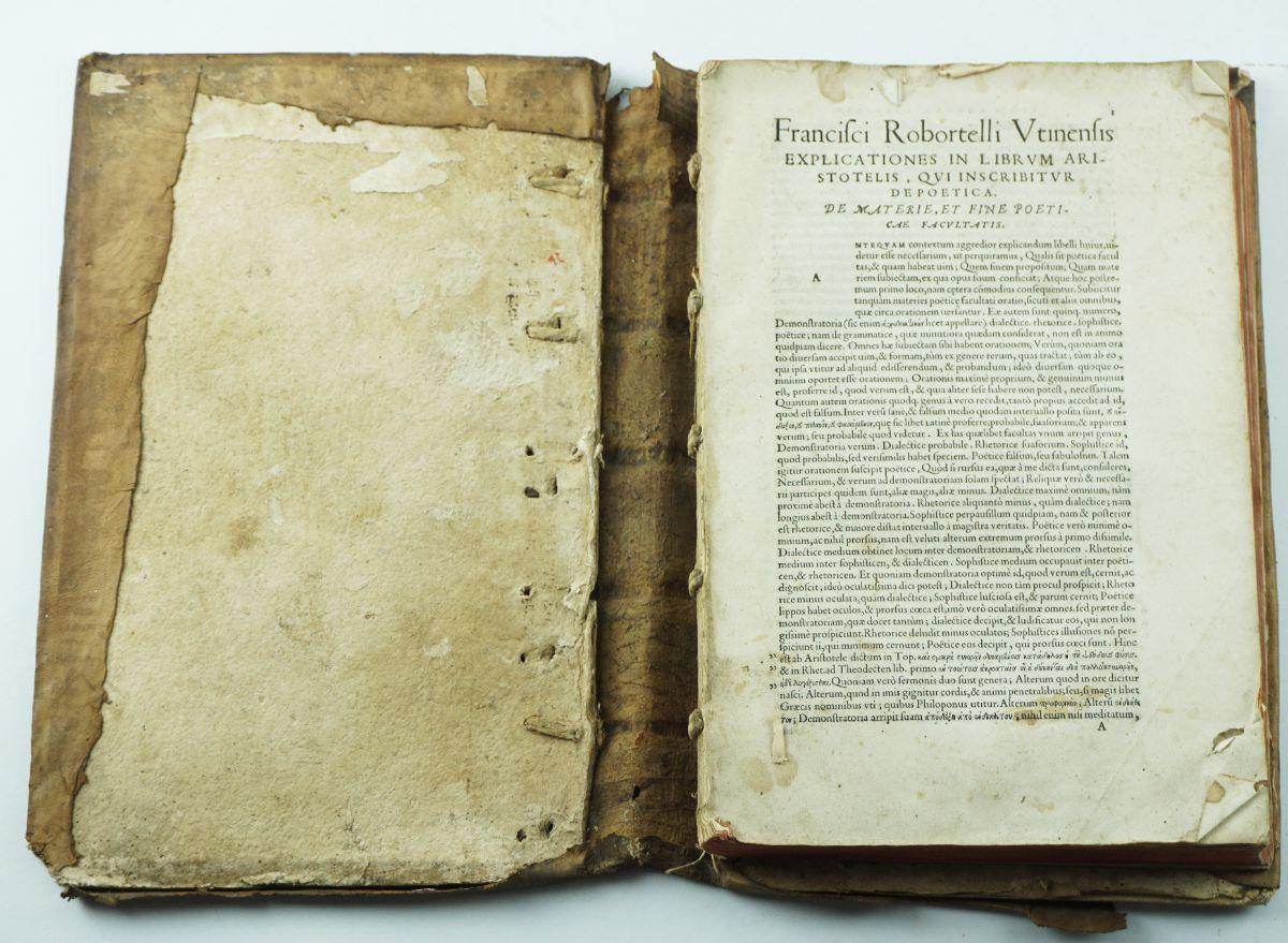 Livro Quinhentista sobre Aristoteles 1548