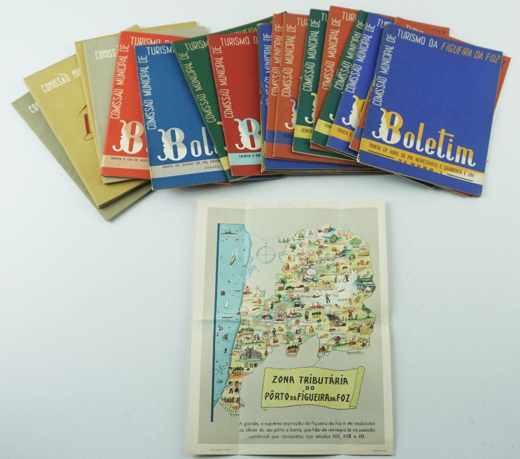 Figueira da Foz – Boletim Turismo 1941-49 (completo)