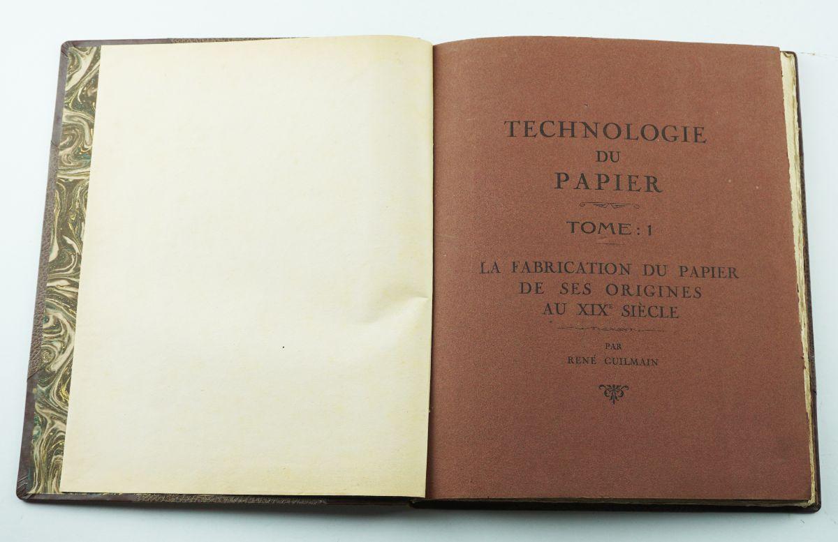 Technologie du Papier