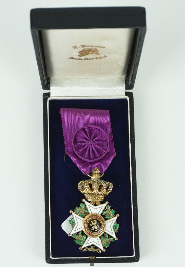 Bélgica- Ordem de Leopoldo I