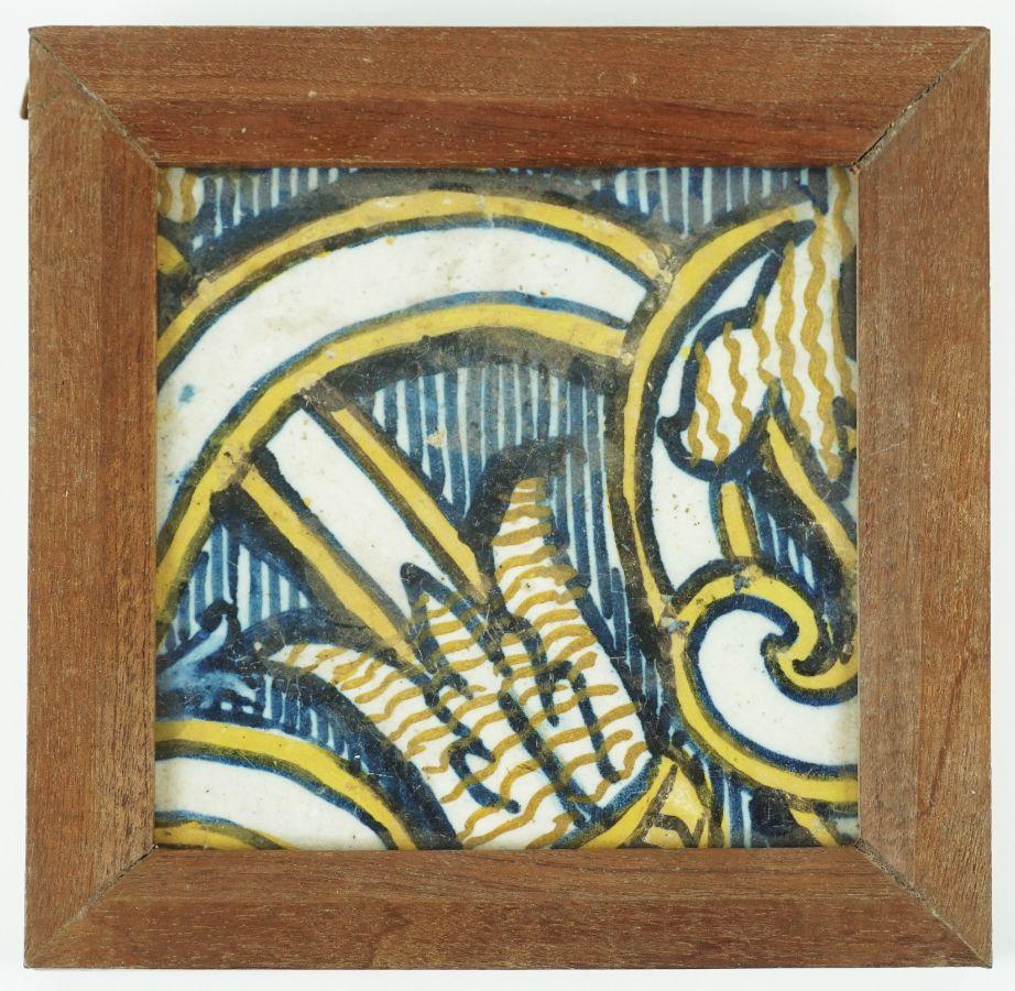 Azulejo do séc. XVII/XVIII