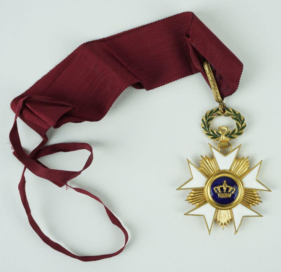 Bélgica- Ordem da Coroa Belga