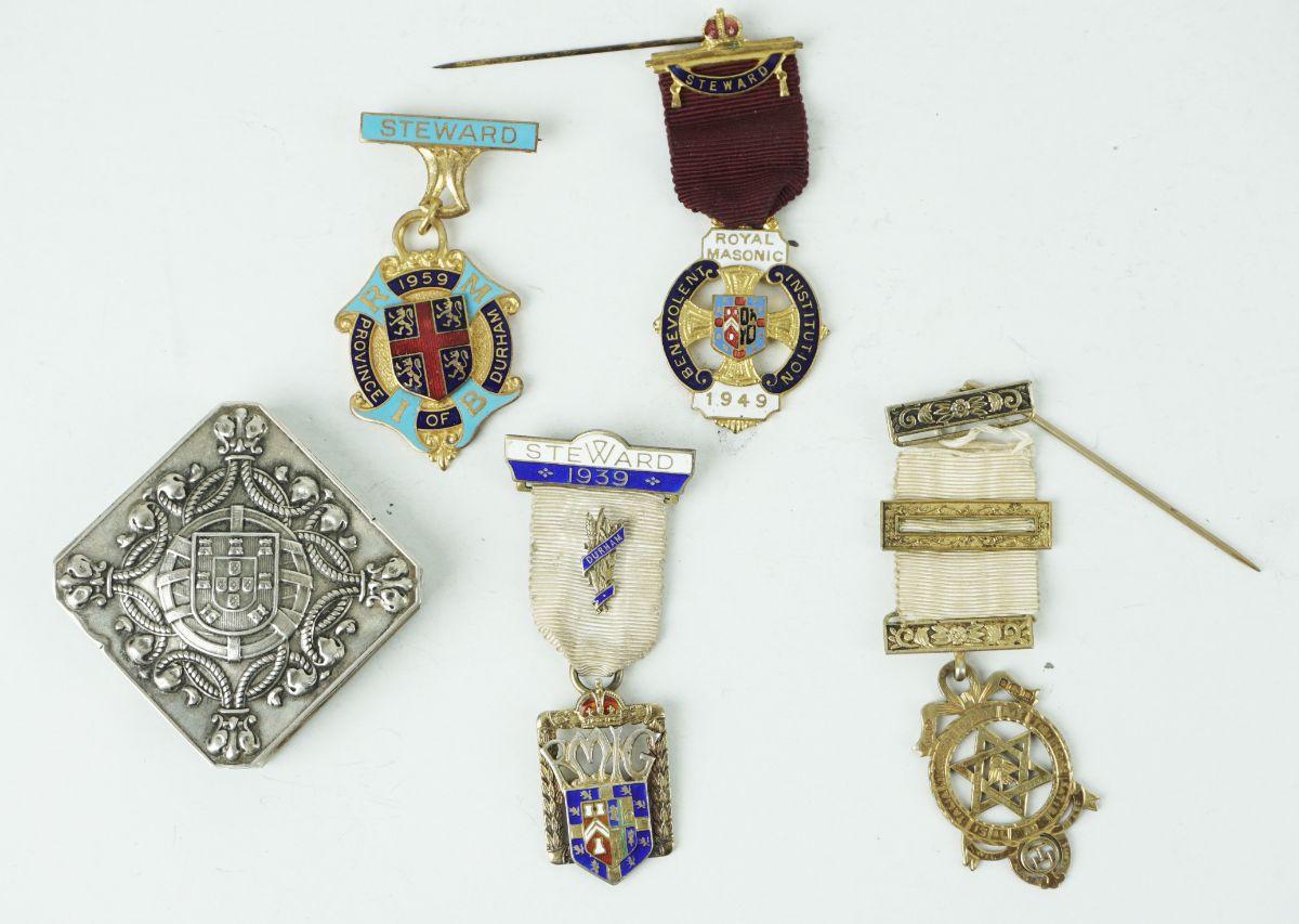 4 Condecorações Maçónicas