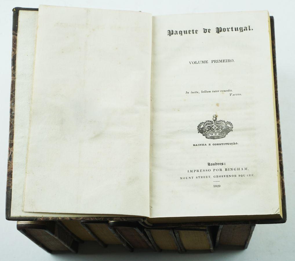 Paquete de Portugal (1829-1831)
