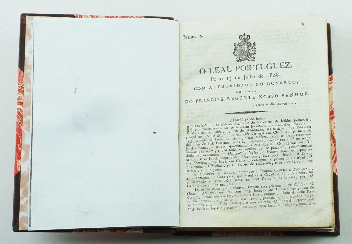 I Invasão Francesa – jornal O Leal Português (1808)
