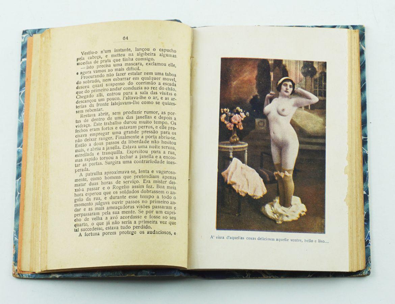 Dois livros eróticos portugueses ilustrados (1916)