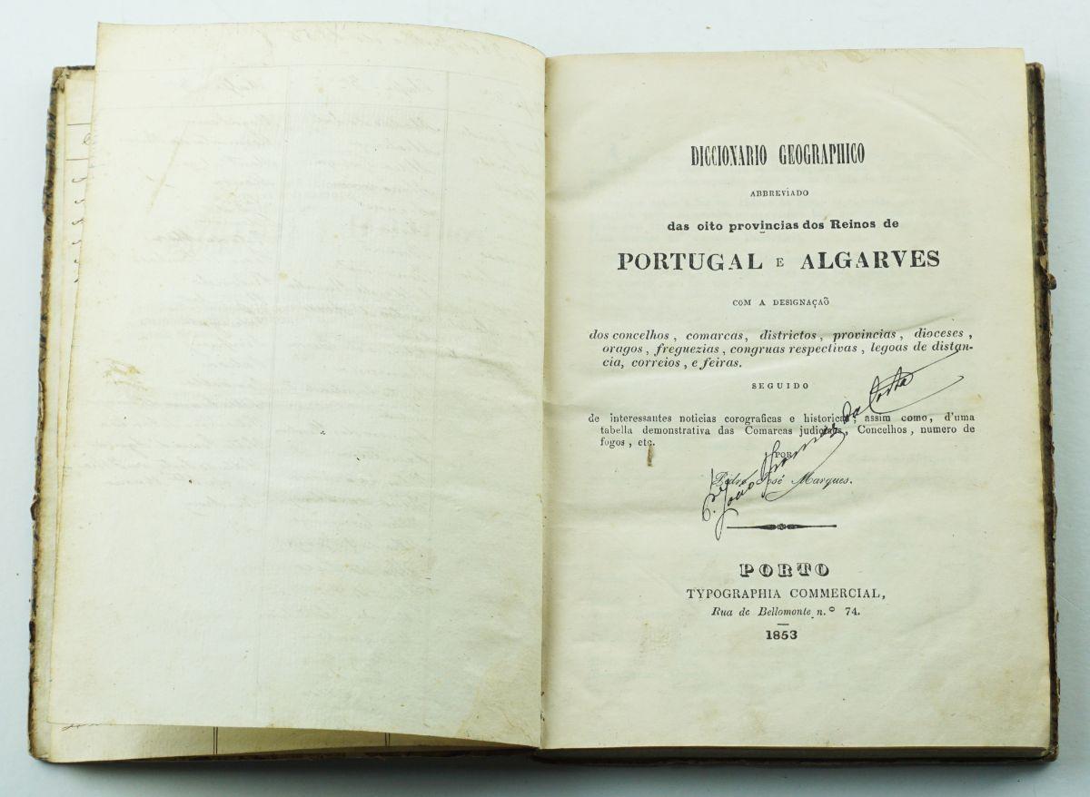 Dicionário Corográfico (1853)