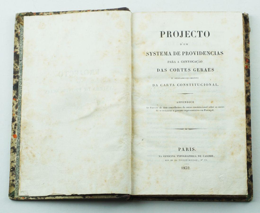 Obra fundamental de Silvestre Pinheiro Ferreira (1832)
