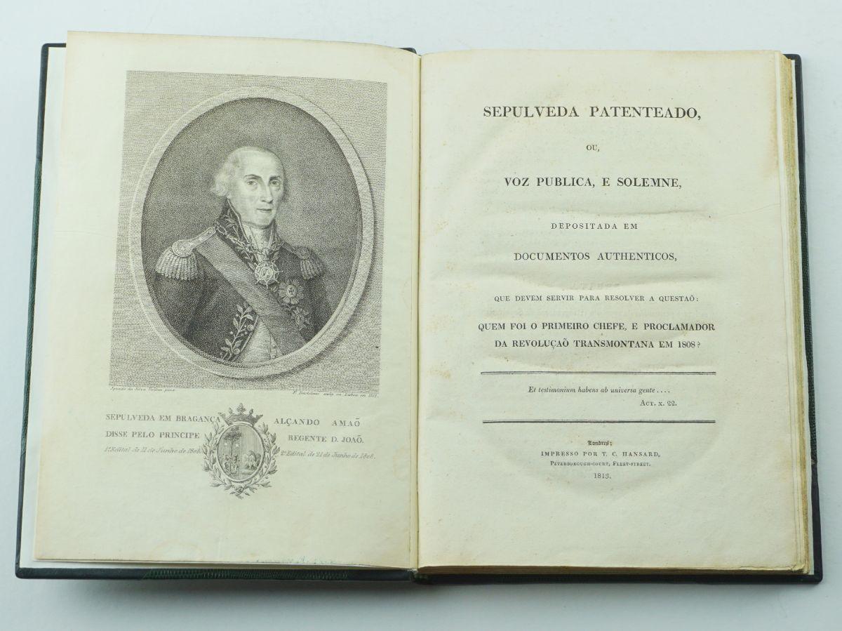 Obra sobre o general Sepúlveda (1813)