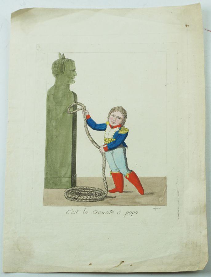 Gravura anti napoleónica (1815?)