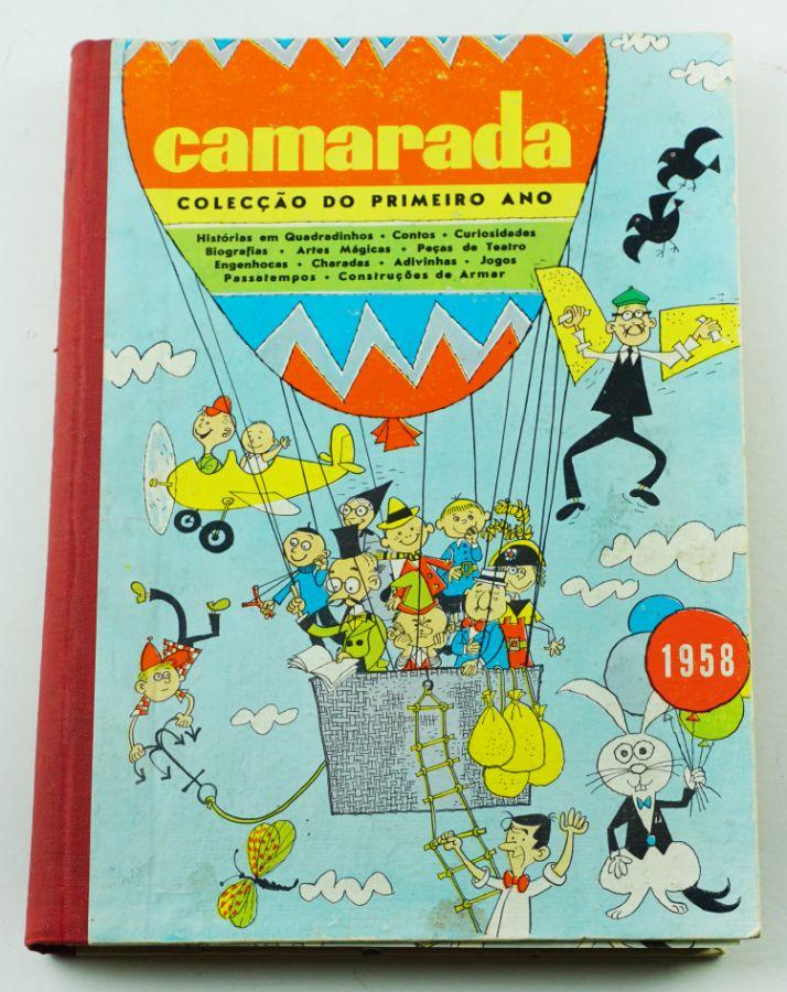 """Livro Infantil Muito Raro """"Camarada"""""""